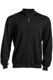 Full-Zip Sweater Black Thumbnail