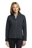 Women's Welded Soft Shell Jacket Battleship Grey Thumbnail