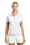 Women's Nike Golf Shirt Tech Basic Dri-FIT Polo White Thumbnail