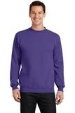 7.8-oz Crewneck Sweatshirt Purple Thumbnail