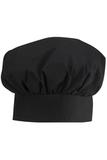 Poplin Chef Hat Black Thumbnail