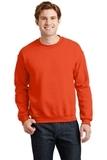 Heavy Blend Crewneck Sweatshirt Orange Thumbnail