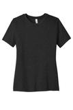 BELLACANVAS Women's Relaxed Jersey Short Sleeve Tee Black Heather Thumbnail