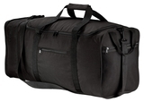 Packable Travel Duffel Black Thumbnail