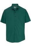 Men's Easy Care Poplin Shirt SS Hunter Thumbnail