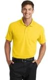 Dry Zone Grid Polo Yellow Thumbnail