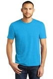 District Made Perfect Tri Crew Tee Turquoise Frost Thumbnail