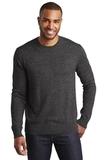 Marled Crew Sweater Black Marl Thumbnail