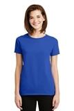 Women's Ultra Cotton 100 Cotton T-shirt Royal Thumbnail