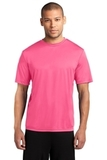 Essential Performance Tee Neon Pink Thumbnail