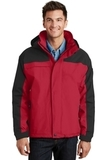 Nootka Jacket Engine Red with Black Thumbnail