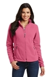 Women's Value Fleece Jacket Pink Blossom Thumbnail
