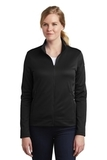 Women's Nike Golf Therma-FIT Full-Zip Fleece Black Thumbnail