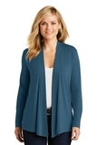 Women's Concept Knit Cardigan Dusty Blue Thumbnail