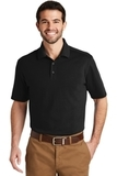 SuperPro Knit Polo Black Thumbnail