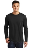 Long Sleeve Perfect Weight District Tee Jet Black Thumbnail