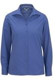 Women's Easy Care Poplin Shirt LS French Blue Thumbnail