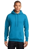 7.8-oz Pullover Hooded Sweatshirt Neon Blue Thumbnail