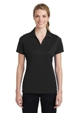 Women's Sport-Tek PosiCharge RacerMesh Polo Black Thumbnail
