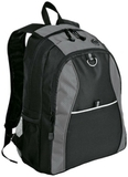 Improved Contrast Honeycomb Backpack Grey with Black Thumbnail