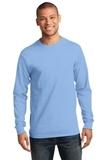 Essential Long Sleeve T-shirt Light Blue Thumbnail