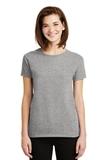 Women's Ultra Cotton 100 Cotton T-shirt Sport Grey Thumbnail