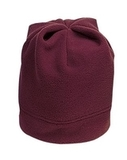 Stretch Fleece Beanie Maroon Thumbnail