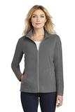 Women's Microfleece Jacket Pearl Grey Thumbnail