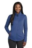Women's Collective Smooth Fleece Jacket Night Sky Blue Thumbnail