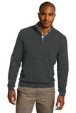 1/2-zip Sweater Charcoal Heather Thumbnail