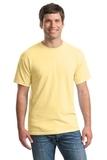Heavy Cotton 100 Cotton T-shirt Yellow Haze Thumbnail