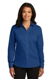 Women's Red House NonIron Twill Shirt Blue Horizon Thumbnail