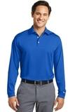 Nike Golf Shirt Long Sleeve Dri-FIT Stretch Tech Polo Blue Sapphire Thumbnail