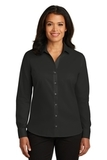 Women's Red House NonIron Twill Shirt Black Thumbnail
