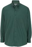 Men's Cotton Twill Rich Long Sleeve Twill Shirt Forest Thumbnail