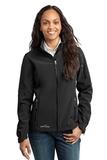 Women's Eddie Bauer Soft Shell Jacket Black Thumbnail