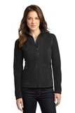 Women's Eddie Bauer Full-zip Microfleece Jacket Black Thumbnail