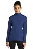 Ladies Exchange 1.5 Long Sleeve 1/2-Zip True Royal Heather Thumbnail