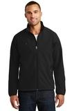 Textured Soft Shell Jacket Black Thumbnail