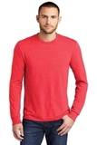 Made Men's Perfect Tri Long Sleeve Crew Tee Red Frost Thumbnail