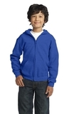 Youth Heavy Blend Full-zip Hooded Sweatshirt Royal Thumbnail