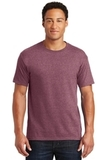 50/50 Cotton / Poly T-shirt Vintage Heather Maroon Thumbnail