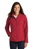Women's Core Soft Shell Jacket Rich Red Thumbnail