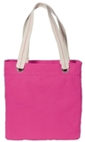 Allie Tote Tropical Pink with Chocolate Thumbnail