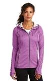 Women's OGIO ENDURANCE Pursuit Full-Zip Purple Impact Thumbnail