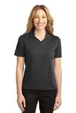 Women's Rapid Dry Polo Shirt Jet Black Thumbnail