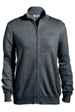 Women's Full Zip Cardigan Smoke Heather Thumbnail