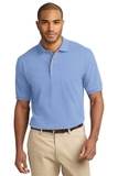 100% Cotton Polo Shirt Light Blue Thumbnail