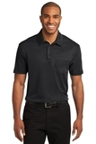Silk Touch Performance Pocket Polo Black Thumbnail