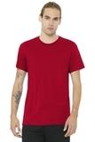 BELLACANVAS Unisex Jersey Short Sleeve Tee Red Thumbnail